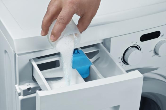 Применение для стирки сухого стирального порошка