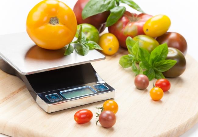 Бытовые кухонные весы