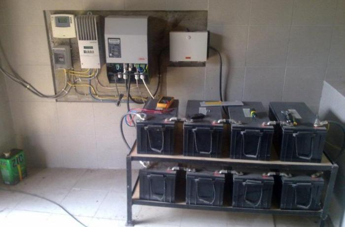 Целая система для поддержания электросети