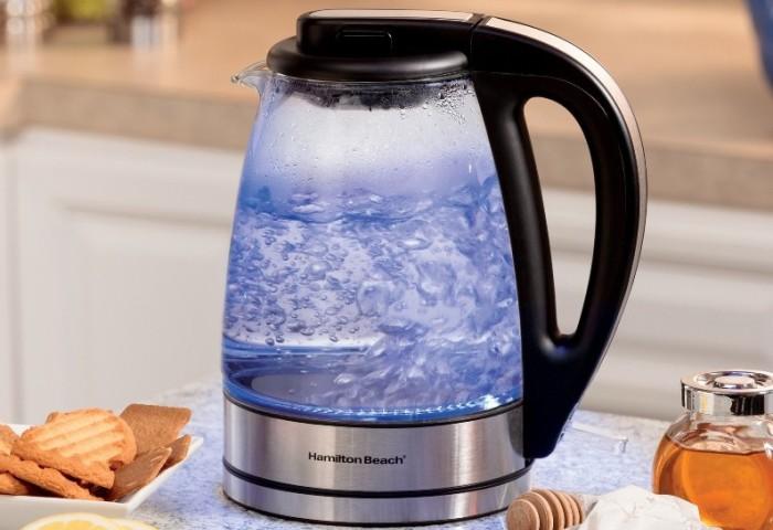 Процесс кипячения воды