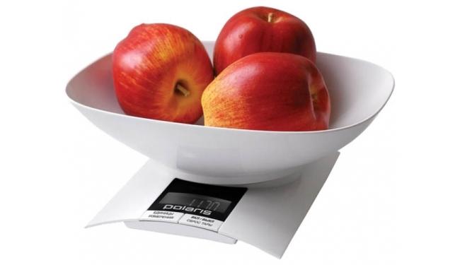 Измеряем вес яблок