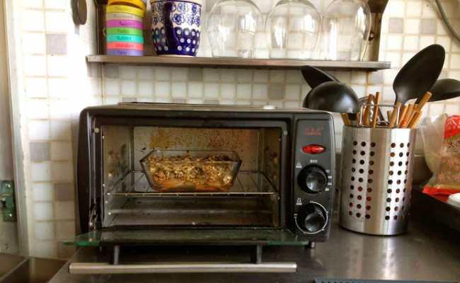 Регулярно используемая на кухне мини-печь