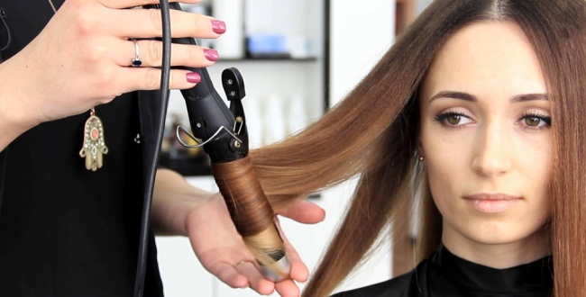 Использование прибора в парикмахерской
