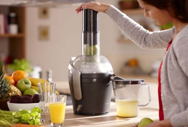 Оригинальный прибор для добычи сока свежих фруктов