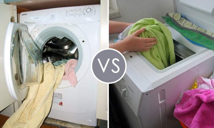 Выбрать фронтальную или вертикальную стиральную машину