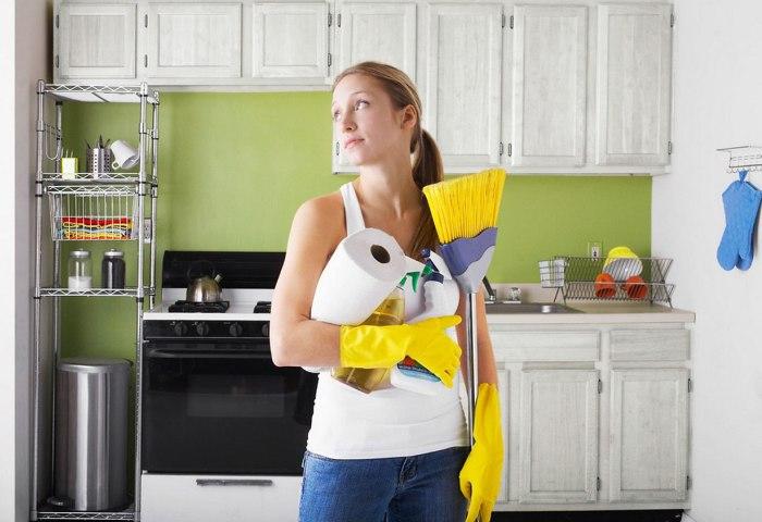 Как заставить себя работать по дому