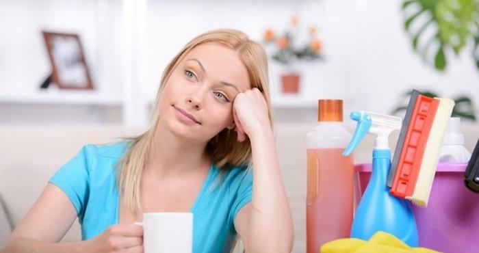 После проведения уборки, настроение повышается автоматически