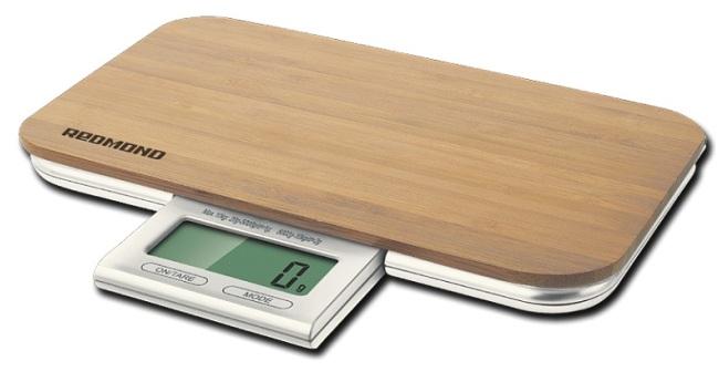 Оригинальный внешний вид весов Редмонд