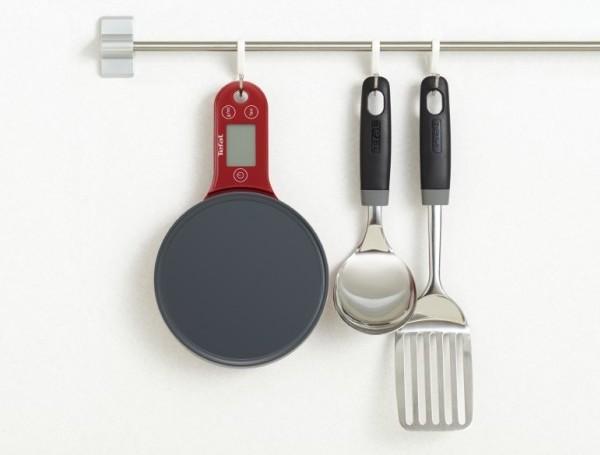 Весы от Тефаль в виде сковородки