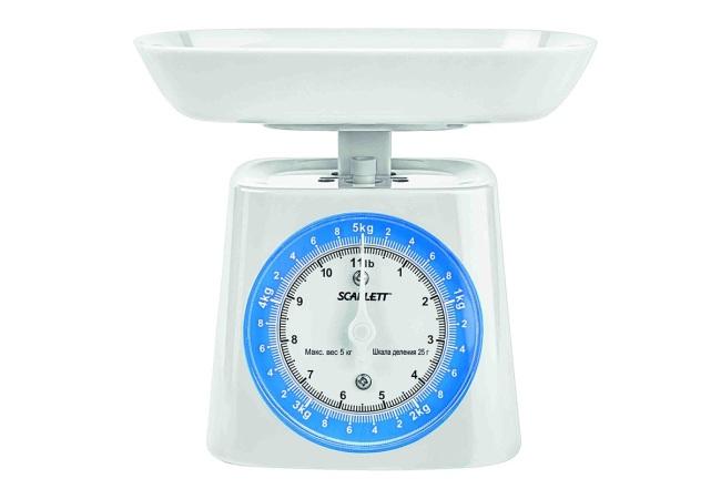 Механическая модель весов от Скарлетт
