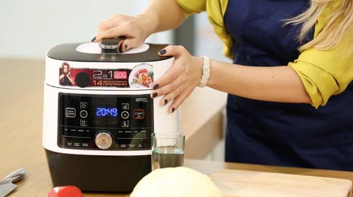 Удобная техника позволяет быстро и вкусно готовить