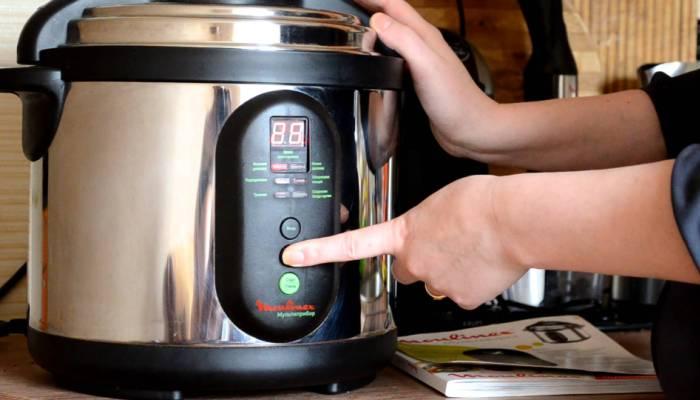 Настройка прибора для приготовления пищи