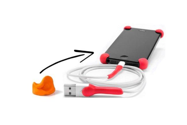 Самодельный мини бампер для телефона