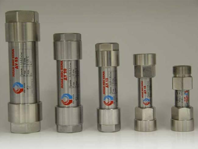 Магнитные фильтры на трубы разных диаметров