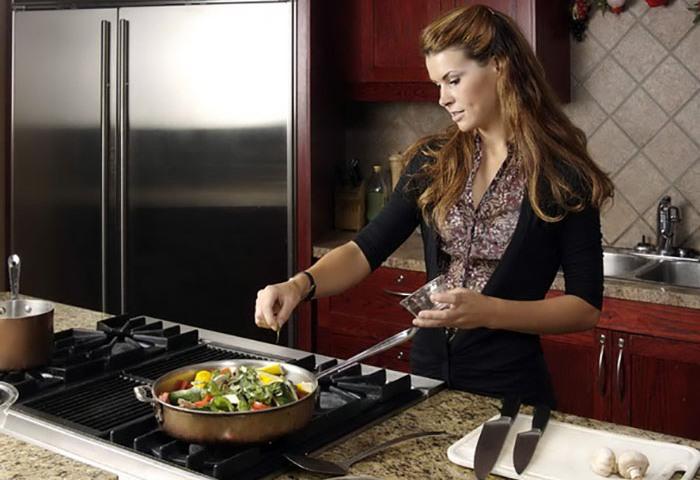 Главное, чтобы кухонная плита нравилась хозяйке
