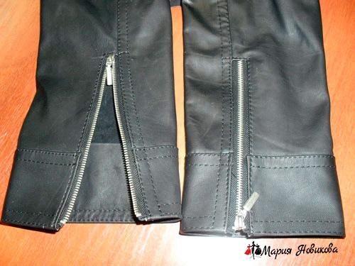 Как сшить кожаную куртку своими руками?
